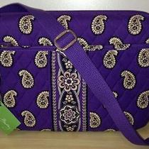 Vera Bradley Simply Violet Small Computer Bag Photo