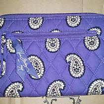 Vera Bradley Simply Violet Zip Around Wallet Photo