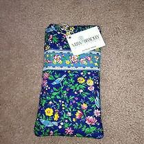 Vera Bradley Single Eyeglass Sunglasses Reader Case Bluebird Spring Floral Nwt Photo
