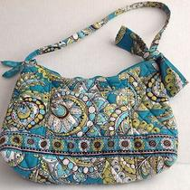 Vera Bradley Small Hobo Purse Peacock Photo