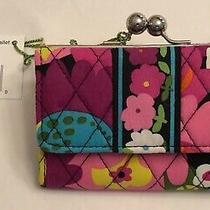 Vera Bradley - Small Kisslock Wallet New With Tags Va Va Bloom 11892-127 Photo