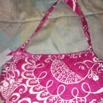 Vera Bradley Small Pink Hobo Purse Breast Cancer Photo