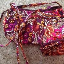 Vera Bradley Small Shoulder Handbag and Coin Purse Set in Safari Sunset Photo