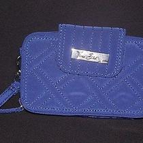 Vera Bradley Smartphone Wristlet Cobalt Blue Microfiber Photo