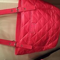 Vera Bradley Solid Hot Pink Tote Photo