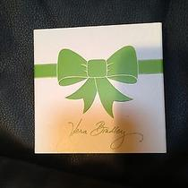 Vera Bradley Square Gift Box New for Jewelry Earrings Bracelet Necklace Bow Photo