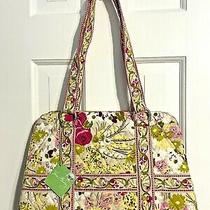 Vera Bradley Squared Away Make Me Blush Double Handled Tote Bag New Tags Rtl 68 Photo