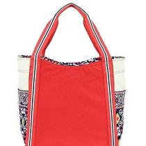 Vera Bradley Sun Valley Large Colorblock Beach Tote Shopping Bag Purse Nwt Photo