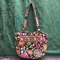 Vera Bradley Suzani Holiday Tote Bag Nice Photo