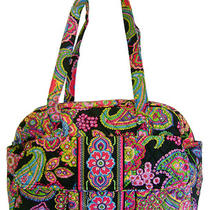 Vera Bradley Symphony in Hue Diaper Baby Bag Purse New Photo