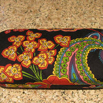 Vera Bradley Symphony in Hue Eyeglass Hard Case Mint Mint Mint Photo