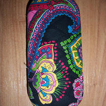 Vera Bradley Symphony in Hue Hard Eyeglass Eye Glass Case Photo
