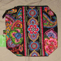 Vera Bradley Symphony in Hue Large Cosmetic Bag Nwt  Photo