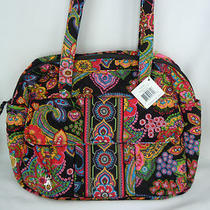 Vera Bradley Symphony in Hue Large Diaper Baby Bag  Nwt  Htf Photo