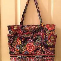 Vera Bradley Symphony in Hue Vera Tote Large Bag Photo