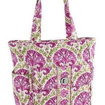 Vera Bradley Tablet Tote Julep Tulip Carry on Travel Shoulder Laptop Bag Rv 88 Photo