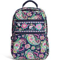 Vera Bradley Tech Backpack Laptop Protection Petal Paisley Photo