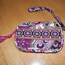 Vera Bradley Tech Case Pink Paisley Iphone Camera Mp3 Wallet Wristlet Photo