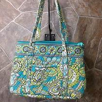 Vera Bradley Tote Bag Purse Diapers Bottles Baby Beach Gym Book Tablet Cloth Photo