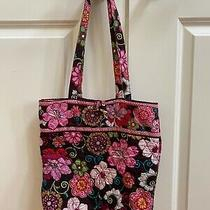 Vera Bradley Tote Bag Purse - Mod Floral Pink Euc  Photo