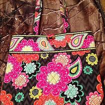 Vera Bradley Tote in Ziggy Zinnia Photo