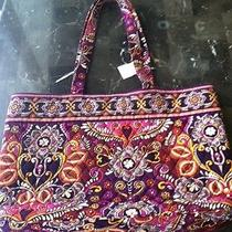 Vera Bradley Tote Safari Sunset Purse Women's Handbag   Photo