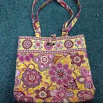 Vera Bradley Tote W Matching Cell Wallet Bali Gold Photo