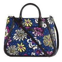 Vera Bradley Trapeze Tote in African Violet Nwt  Photo