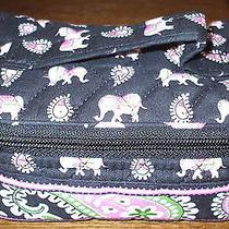 Vera Bradley Travel Jewelry Case Bag in Pink Elephant  Photo