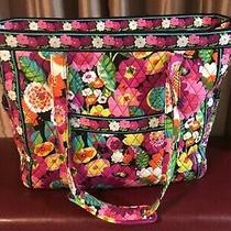 Vera Bradley Travel Tote. Va Va Bloom Pattern. Photo