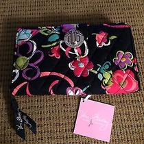 Vera Bradley Turn Lock Wallet Ribbons Nwt Photo