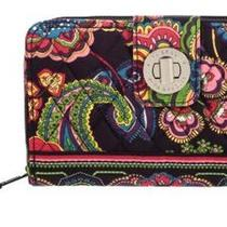 Vera Bradley Turn Lock Wallet Symphony in Hue - Brand New With Tags Photo