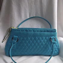 Vera Bradley Turquoise Microfiber Handbag  Photo