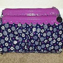 Vera Bradley Twice as Nice Cosmetic Clutch Boysenberry - New Without Tags Photo