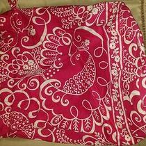 Vera Bradley Twirly Bird Pink Ditty Bag  Drawstring Photo