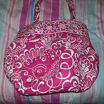 Vera Bradley Twirly Bird Pink Morgan Bag Photo