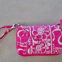 Vera Bradley Twirly Birds Pink All in One Wristlet Wallet Photo