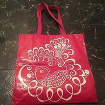 Vera Bradley Twirly Birds Pink Tote Bag-Limited Edition-Nwot Photo