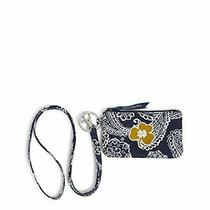 Vera Bradley Unisex Adult Collegiate Zip Id Case and Lanyard Combo Multiple T... Photo