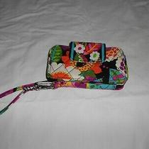 Vera Bradley Va Va Bloom Wristlet Bi-Fold Wallet Photo