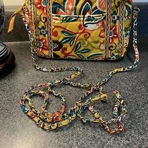 Vera Bradley Va Va Bloom Zip Top Chain Mini Crossbody Bag Purse Photo