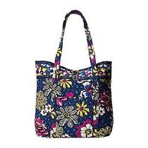Vera Bradley Vera Tote African Violet Carry on Handbag Carryall Purse New Photo