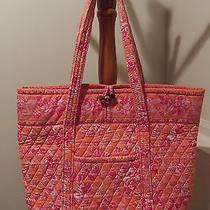 Vera Bradley Vera Tote Bag Hope Toile Retired Very Good Condition Photo