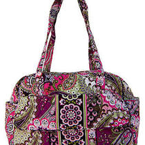 Vera Bradley Very Berry Paisley Diaper Baby Bag New Wtags Photo