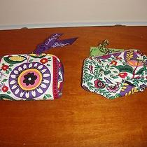 Vera Bradley Viva La Vera Petite Pouch & Listen Up (2 Items) (Both Items Nwt) Photo
