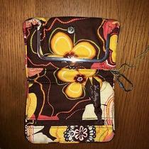 Vera Bradley  Wallet Brown & Yellow Floral Photo