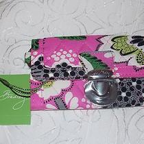 Vera Bradley Wallet Id Case in Priscilla Pink Pattern Quick Swipe Id Perfect  Photo