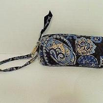 Vera Bradley Windsor Navy Blue Wristlet  Photo