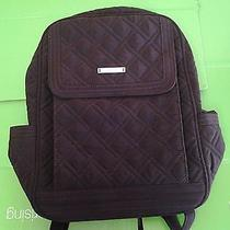 Vera Bradley Wine Microfiber Metro Backpack New  Free Expedited Shipping Photo