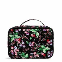 Vera Bradley Winter Berry Iconic Large Blush & Brush Case Cosmetic Makeup Bag Photo